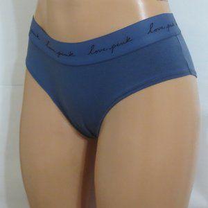 PINK Victoria's Secret Panties Hipster Blue Gray M